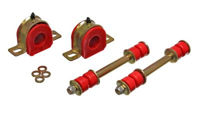 Energy Suspension - Energy Suspension 3.5190R - GM 1-1/8in. GREASEABLE SWAY BAR SET