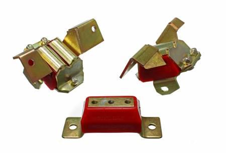 Energy Suspension - Energy Suspension 4.1137R - MOTOR/TRANSMISSION MOUNT SET