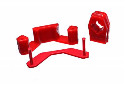 Energy Suspension - Energy Suspension 4.1141R - MANUAL TRANS MOUNT AND SHIFTER BUSHING SET