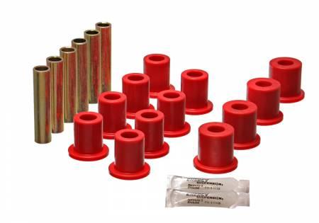 Energy Suspension - Energy Suspension 4.2119R - FD 4 WD FRT SPRING BUSHING SET