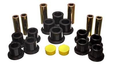 Energy Suspension - Energy Suspension 4.2149G - REAR LEAF SPRING BUSHING SET