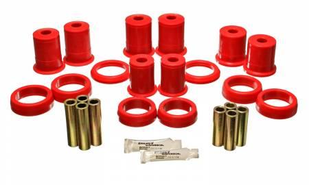 Energy Suspension - Energy Suspension 4.3114R - CONTROL ARM BUSHING SET