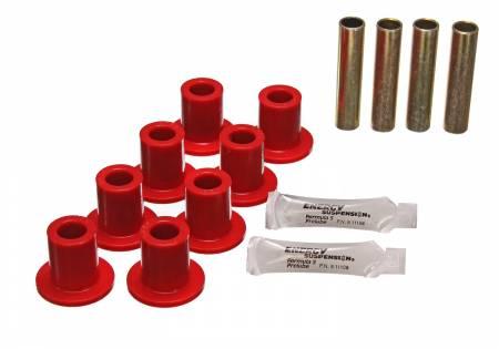 Energy Suspension - Energy Suspension 5.2102R - FRONT LEAF SPRING BUSHING SET