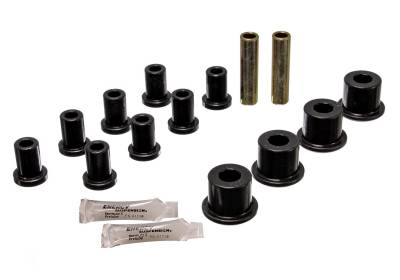 Energy Suspension - Energy Suspension 5.2105G - REAR SPRING AND SHACKLE BUSHINGNG