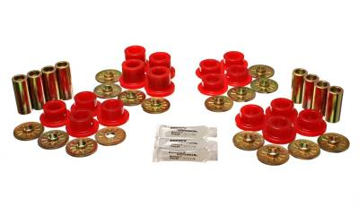 Energy Suspension - Energy Suspension 5.3126R - CONTROL ARM BUSHING SET