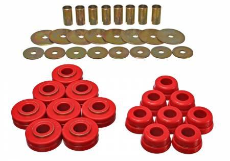 Energy Suspension - Energy Suspension 6.4101R - SCOUT II BODY MOUNTS