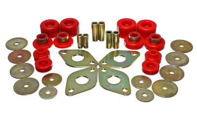 Energy Suspension - Energy Suspension 8.4107R - TOYO BODY MOUNT SET