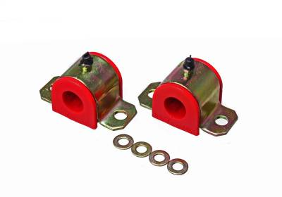 Energy Suspension - Energy Suspension 8.5122R - 22MM REAR SWAY BAR BUSHING SET