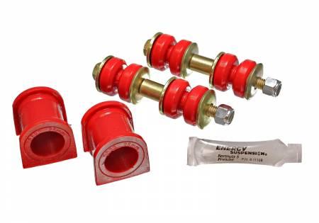 Energy Suspension - Energy Suspension 8.5130R - XB FRONT SWAY BAR BUSHING SET