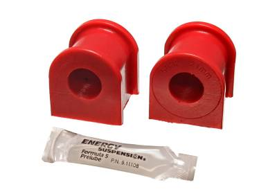 Energy Suspension - Energy Suspension 8.5131R - TC FRONT SWAY BAR BUSHING SET 21MM