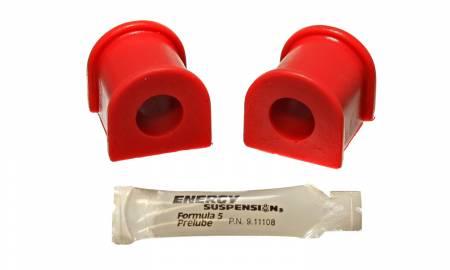Energy Suspension - Energy Suspension 8.5132R - TC REAR SWAY BAR BUSHING SET 18MM