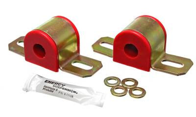 Energy Suspension - Energy Suspension 9.5101R - 7/16in. SWAY BAR BUSHING SET