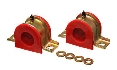 Energy Suspension - Energy Suspension 9.5187R - UNIVERSAL SWAY BAR BUSHING SET 1 3/8in. DIA.