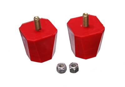 Energy Suspension - Energy Suspension 9.9136R - BUMP STOP 2in. TALL 2in. SQUARE