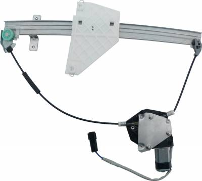 ACDelco - ACDelco Professional Rear Driver Side Power Window Regulator with Motor 11A119