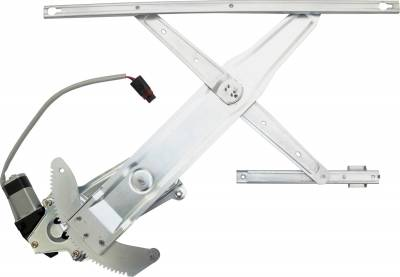 ACDelco - ACDelco Professional Front Driver Side Power Window Regulator with Motor 11A123