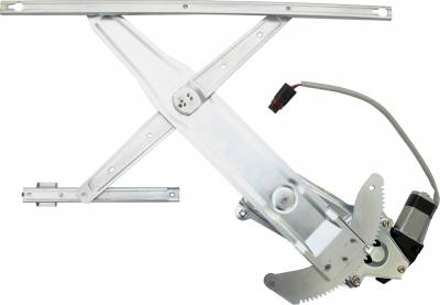 ACDelco - ACDelco Professional Front Passenger Side Power Window Regulator with Motor 11A124