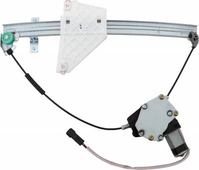 ACDelco - ACDelco Professional Rear Driver Side Power Window Regulator with Motor 11A127