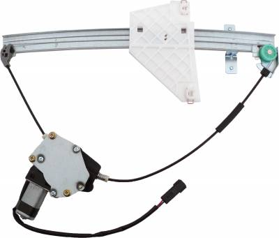 ACDelco - ACDelco Professional Rear Passenger Side Power Window Regulator with Motor 11A128