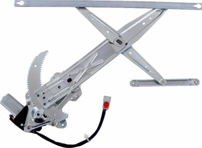 ACDelco - ACDelco Professional Front Driver Side Power Window Regulator with Motor 11A163
