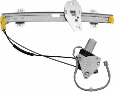 ACDelco - ACDelco Professional Front Driver Side Power Window Regulator with Motor 11A167
