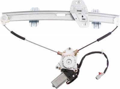 ACDelco - ACDelco Professional Front Driver Side Power Window Regulator with Motor 11A173