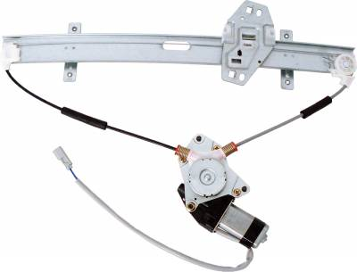 ACDelco - ACDelco Professional Front Passenger Side Power Window Regulator with Motor 11A176