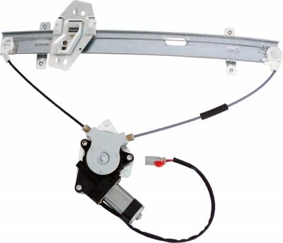 ACDelco - ACDelco Professional Front Passenger Side Power Window Regulator with Motor 11A180