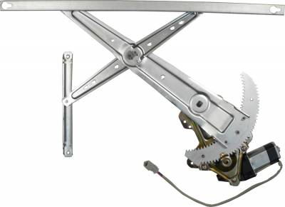 ACDelco - ACDelco Professional Front Passenger Side Power Window Regulator with Motor 11A186