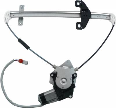 ACDelco - ACDelco Professional Rear Driver Side Power Window Regulator with Motor 11A193
