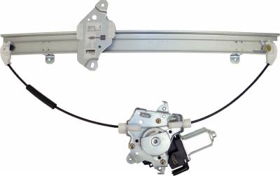 ACDelco - ACDelco Professional Front Passenger Side Power Window Regulator with Motor 11A242