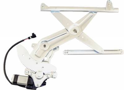ACDelco - ACDelco Professional Front Driver Side Power Window Regulator with Motor 11A257