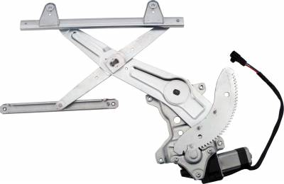 ACDelco - ACDelco Professional Rear Passenger Side Power Window Regulator with Motor 11A296