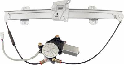 ACDelco - ACDelco Professional Front Passenger Side Power Window Regulator with Motor 11A347