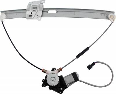 ACDelco - ACDelco Professional Front Passenger Side Power Window Regulator with Motor 11A379