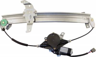 ACDelco - ACDelco Professional Front Driver Side Power Window Regulator with Motor 11A380