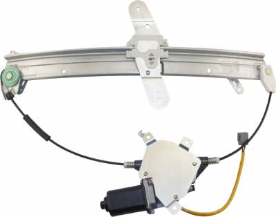ACDelco - ACDelco Professional Front Driver Side Power Window Regulator with Motor 11A382