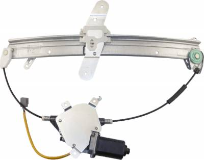 ACDelco - ACDelco Professional Front Passenger Side Power Window Regulator with Motor 11A383