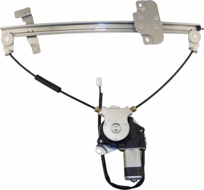 ACDelco - ACDelco Professional Front Driver Side Power Window Regulator with Motor 11A390