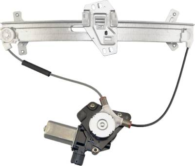 ACDelco - ACDelco Professional Front Driver Side Power Window Regulator with Motor 11A394