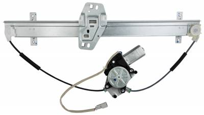 ACDelco - ACDelco Professional Front Passenger Side Power Window Regulator with Motor 11A396