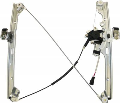 ACDelco - ACDelco Professional Front Passenger Side Power Window Regulator with Motor 11A401