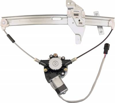 ACDelco - ACDelco Professional Front Driver Side Power Window Regulator with Motor 11A402