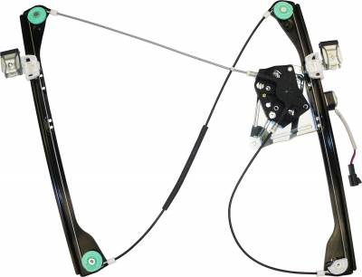 ACDelco - ACDelco Professional Front Passenger Side Power Window Regulator with Motor 11A405