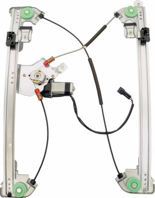 ACDelco - ACDelco Professional Front Driver Side Power Window Regulator with Motor 11A406
