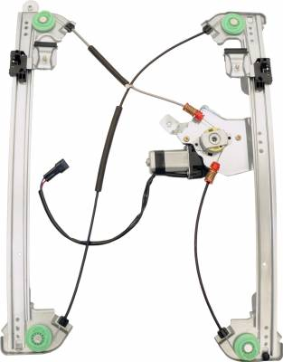 ACDelco - ACDelco Professional Front Passenger Side Power Window Regulator with Motor 11A407