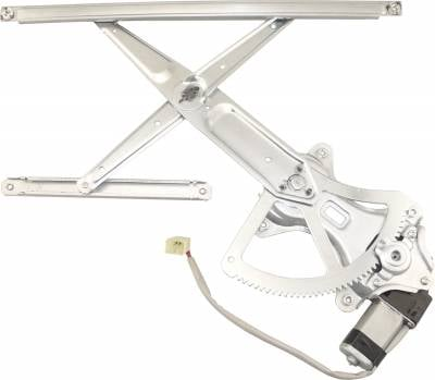 ACDelco - ACDelco Professional Front Driver Side Power Window Regulator with Motor 11A411
