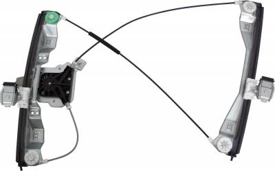 ACDelco - ACDelco Professional Front Driver Side Power Window Regulator with Motor 11A429
