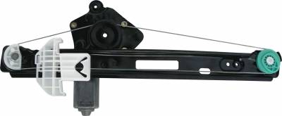 ACDelco - ACDelco Professional Rear Driver Side Power Window Regulator with Motor 11A438
