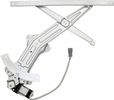 ACDelco - ACDelco Professional Front Driver Side Power Window Regulator with Motor 11A440